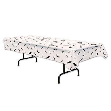 Nappe moustaches, 54 x 108 po, 2/paquet