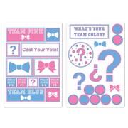 "Gender Reveal Decals, 11"" x 17"" Sheet, 8/Pack"