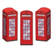"Beistle 3"" x 8 1/2"" Phone Booth Favor Box, 9/Pack"