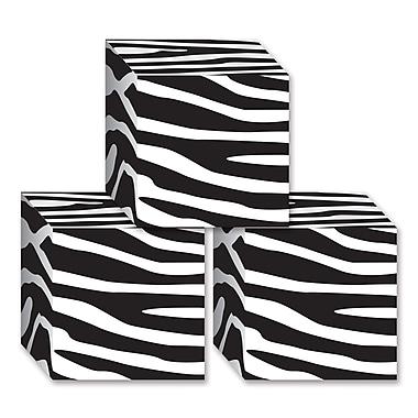 Zebra Print Favor Boxes, 3-1/4
