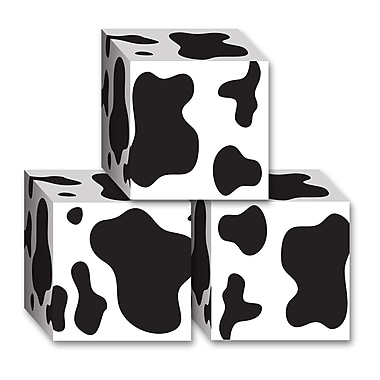 Cow Print Favor Boxes, 3-1/4