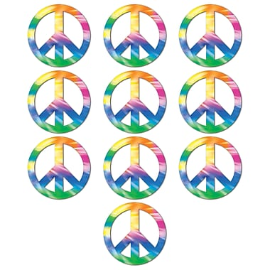 Mini Peace Sign Cutouts, 4-1/2