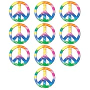 "Mini Peace Sign Cutouts, 4-1/2"", 70/Pack"