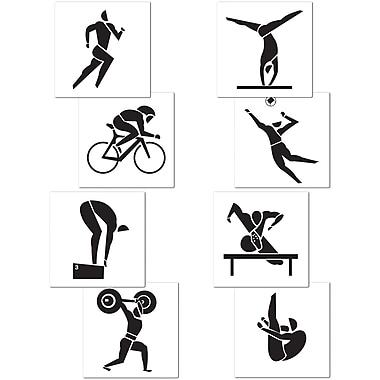 Summer Sports Cutouts, 17