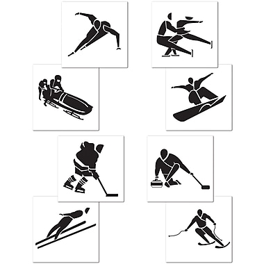 Winter Sports Cutouts, 17