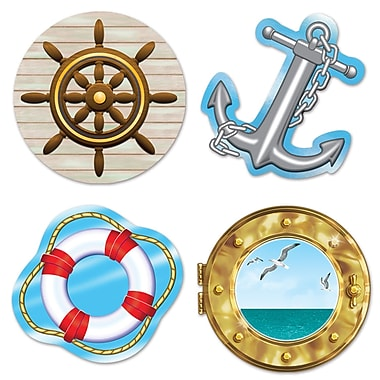 Nautical Cutouts, 13-3/4