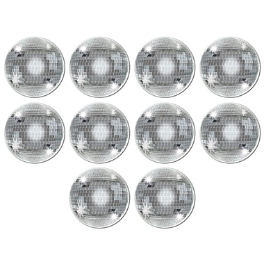 Mini découpes boule disco, 4 po, 70/paquet