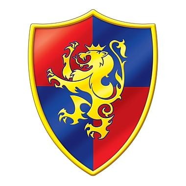 Découpe emblème médiéval, 16 po, 9/paquet