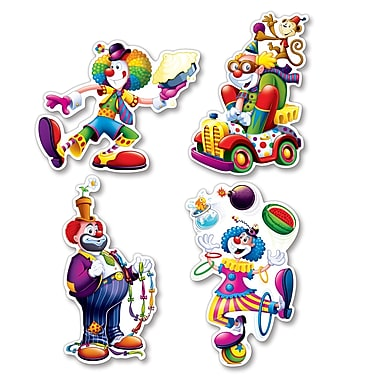 Clown Cutouts, 14