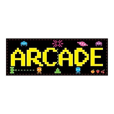 Affiche arcade, 8 x 22 po, 9/paquet