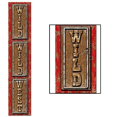 Jointed Wild Wild West Pull-Down Cutout, 6', 3/Pack