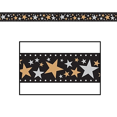 Star Filmstrip Poly Decorating Material, 18