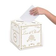 "Wedding Card Box, 9"" x 9"", 2/Pack"