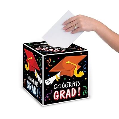 Beistle Congrats Graduate Gift Card Box, 9