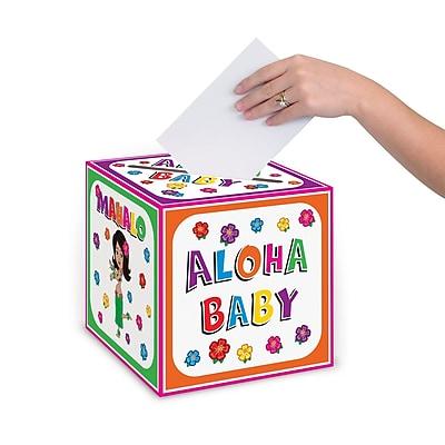 Beistle Hula Baby Gift Card Box, 9