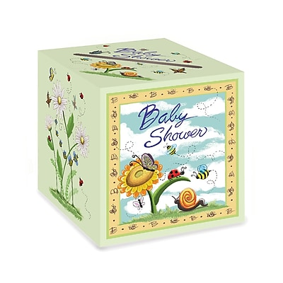 Beistle Baby Shower Gift Card Box, 9