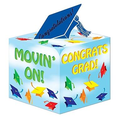 Beistle Graduation Gift Card Box, 6