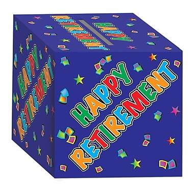 Boîte pour cartes de retraite, 12 x 12 po, 2/paquet