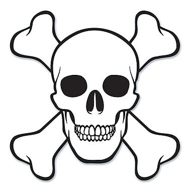 Skull & Crossbones Cutout, 16