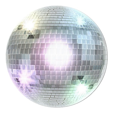 Beistle Disco Ball Cutouts, 13 1/2