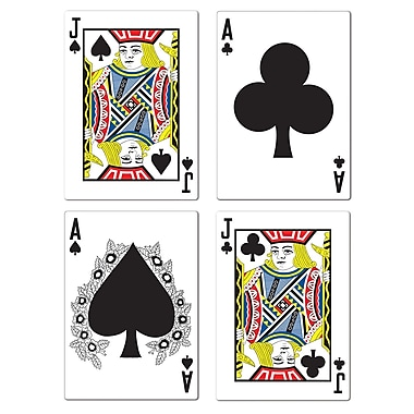 Blackjack Cutouts, 17-1/2