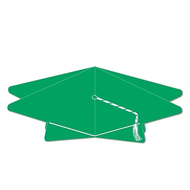3-Dimensional Grad Cap Centerpiece, 10-1/2