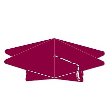 Centre de table 3D en forme de mortier, 10 1/2 po, marron, paquet de 5