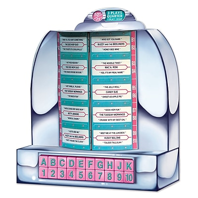 Beistle Tabletop Jukebox, 13 1/4