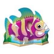 "Beistle 13"" Glittered Fish Centerpiece, 4/Pack"
