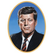 Beistle 25 inch John F Kennedy Cutouts, 4/Pack by