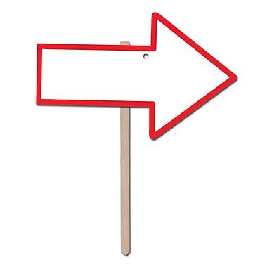 Blank Arrow Yard Sign, 9