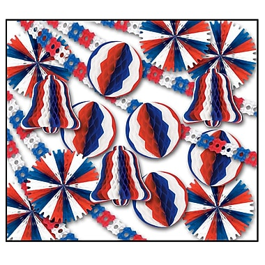 Beistle 26-Piece Patriotic Display Decorator