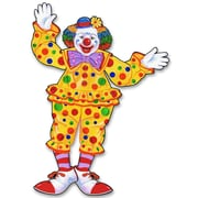 """Jointed Circus Clown, 30"""", 4/Pack"""