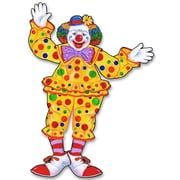 Clown de cirque articulé, 30 po, 4/paquet