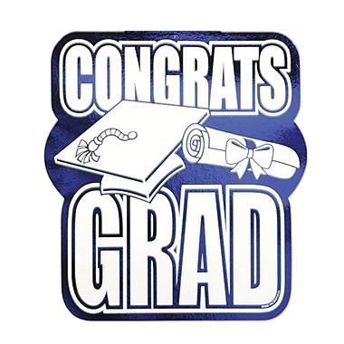 Foil Congrats Grad Cutout, 13