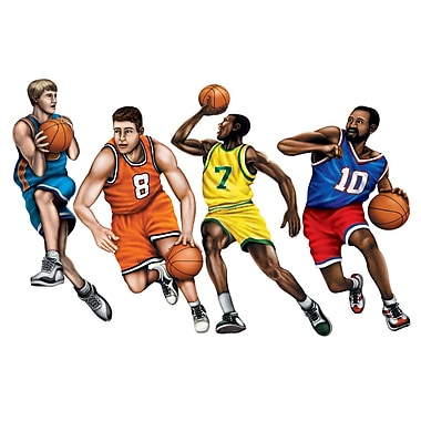Basketball Player Cutouts, 20
