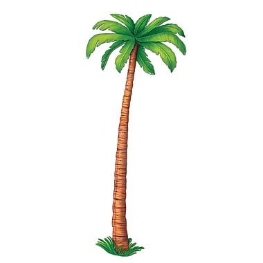 Beistle 6' Jointed Palm Tree, 2/Pack