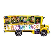 "School Bus Cutout, 18"", 10/Pack"