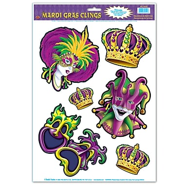 Mardi Gras Clings, 12