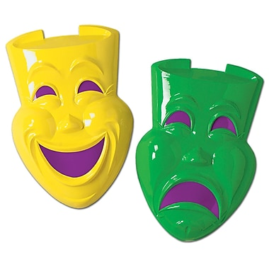 Plastic Comedy & Tragedy Faces, 21
