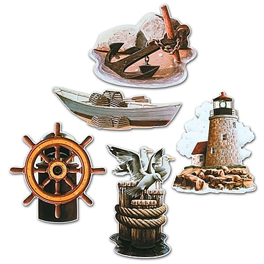 Nautical Icon Cutouts, 16