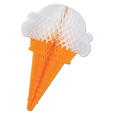 Tissue Ice Cream Cones, 15-1/2