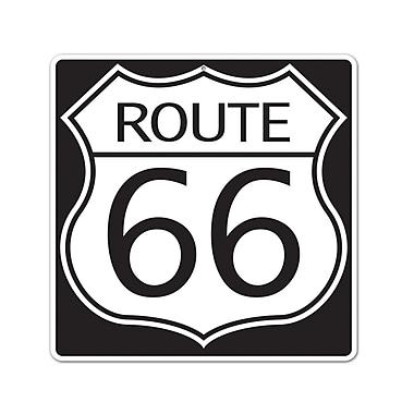 Découpe panneau Route 66, 16 po, 4/paquet