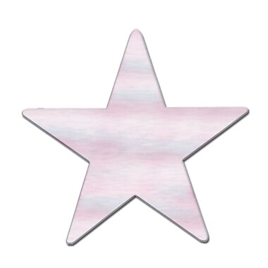 Large Foil Star Cutout, 15