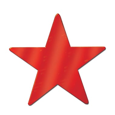 Large Foil Star Cutout, 15