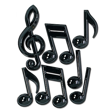 Plastic Musical Notes, 13