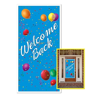 Welcome Back Door Cover, 30