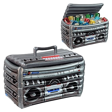 Inflatable Boom Box Cooler, 24