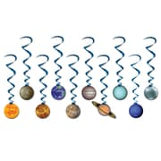 "Beistle 3' 4"" Solar System Whirls, 20/Pack"
