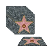 """Star Coasters, 3-1/2"""", 32/Pack"""